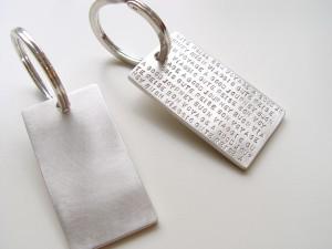 Motto Schlüsselanhänger