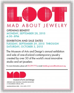 LOOT: MAD about Jewelry 2015