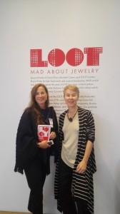Besuch aus Hagen in New York bei LOOT 2015 - vielen Dank Frau Zamel ich habe mich sehr gefreut.  Visiting me at LOOT 2015 in New York - thank you so much Mrs. Zamel I was so amazed about it.