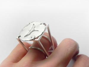 KRANICHE - Ring 935 Ag