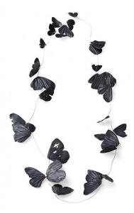 Falterkette von Iris Merkle - Foto Iris Merkle - Silber oxidiert