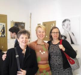 Ute Witte, Ariane Hartmann und Babette Egerland