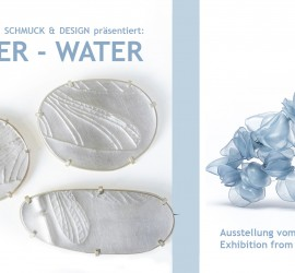 WASSER - WATER - Ausstellungseinladung bei Ariane Hartmann