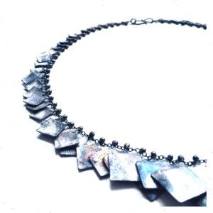 Flügelkette von Andrea Schmidt Silber oxidiert