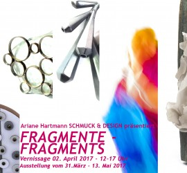 FRAGMENTE Vernissage am 2. April 2017