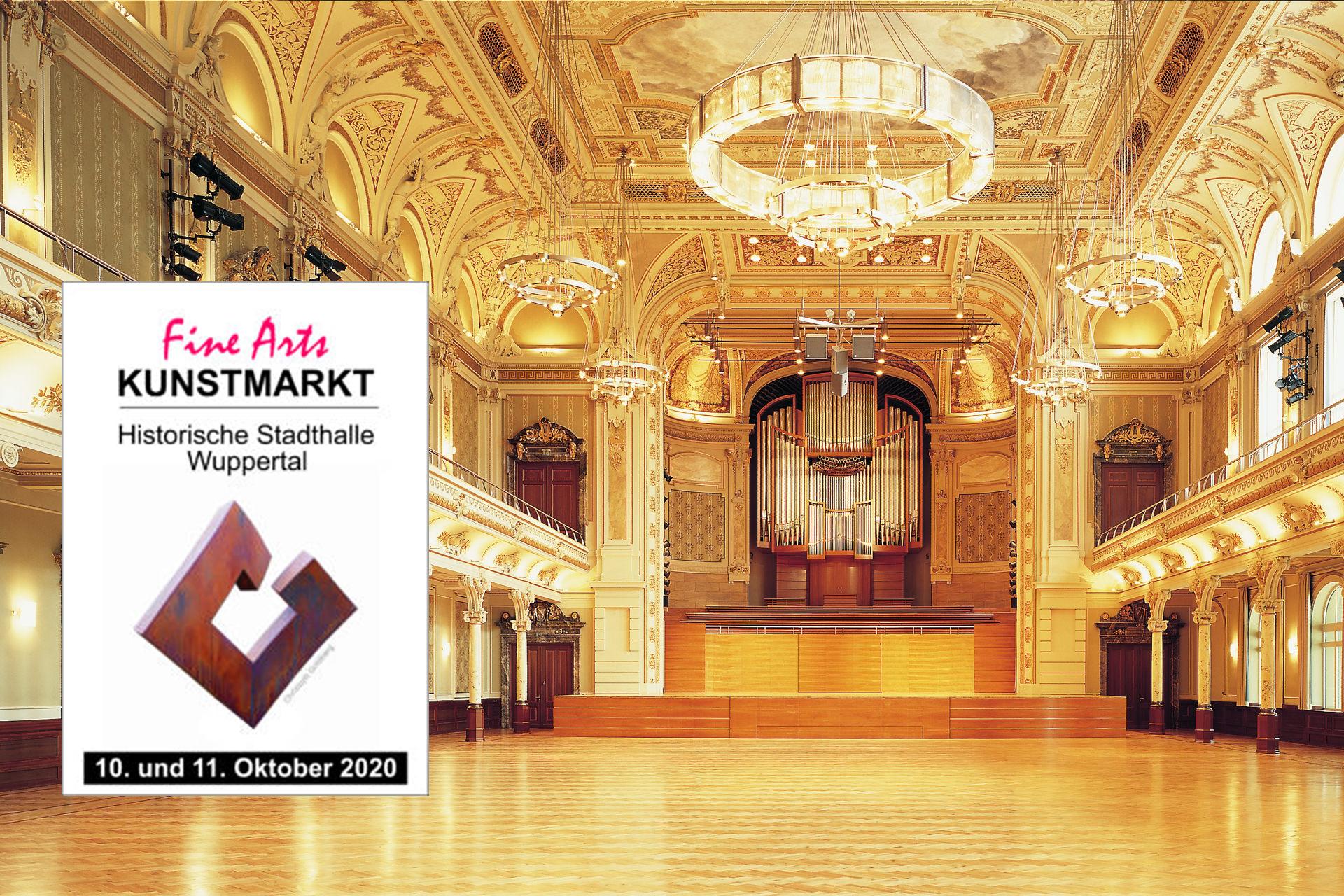 FINE ARTS in der historischen Stadthalle Wuppertal